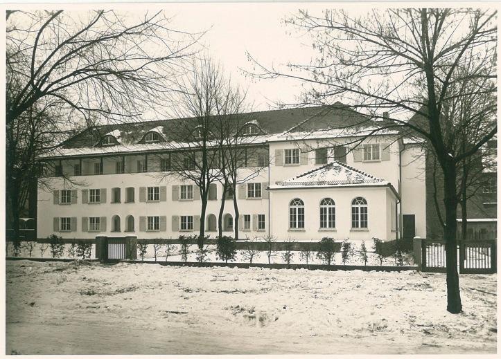 Franz Rohde Haus Karlsruhe. (c) Otto-Bartning-Archiv der TU Darmstadt