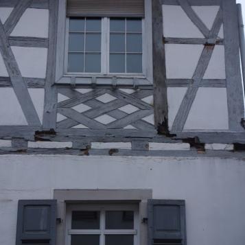 Schäden Haus Kelterstraße 23, Fachwerk, Herbst 2018