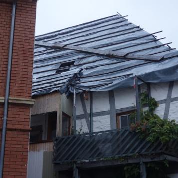 Schäden Haus Kelterstraße 23, Herbst 2018