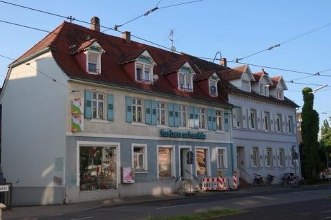 Juli 2019. Blumentorstraße 4, Karlsruhe (inzwischen abgerissen)