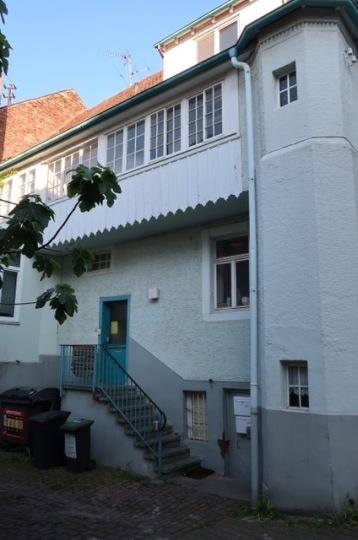 Karlsruhe Durlach: Blumentorstraße 4. Rückseite Altan (c) Arbeitsgemeinschaft Karlsruher Stadtbild