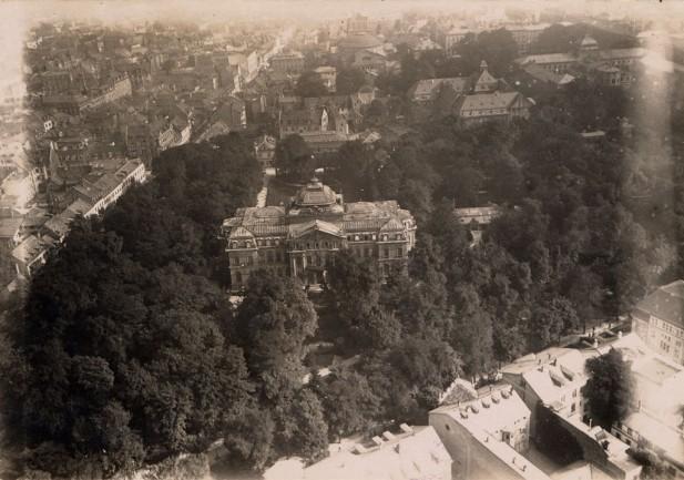 Erbgroßherzogliches Palais in den 20er Jahren